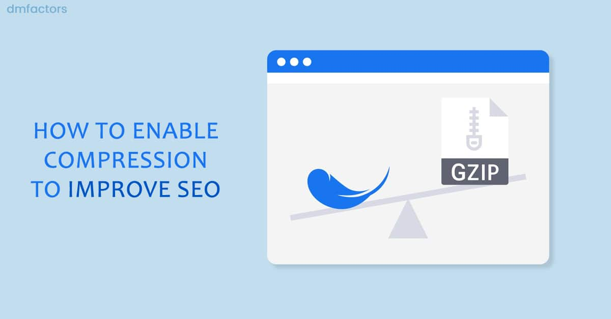 enable compression to improve SEO